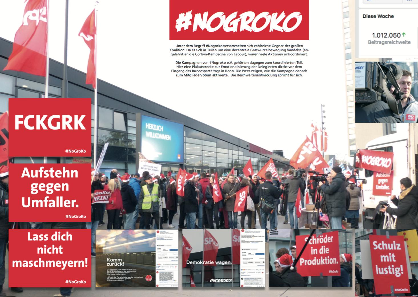 Einer der Kampagnen von #Nogroko e.V.